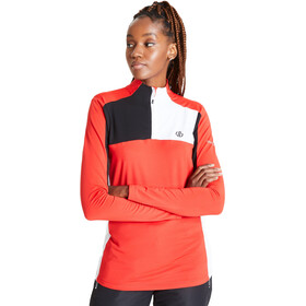 Dare 2b Default Sweat core stretch Femme, seville red/black/white